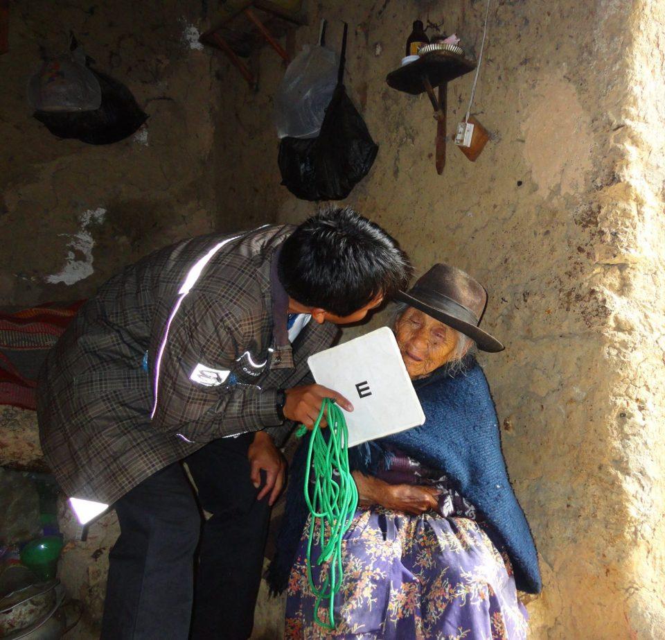 (En potosí en el desarrollo del estudio RAAB-Bolivia 2015)